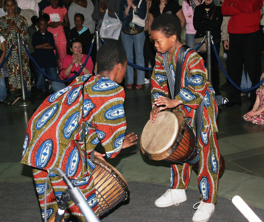 Cultural experience at the Aquarium of the Pacific African-American Festival