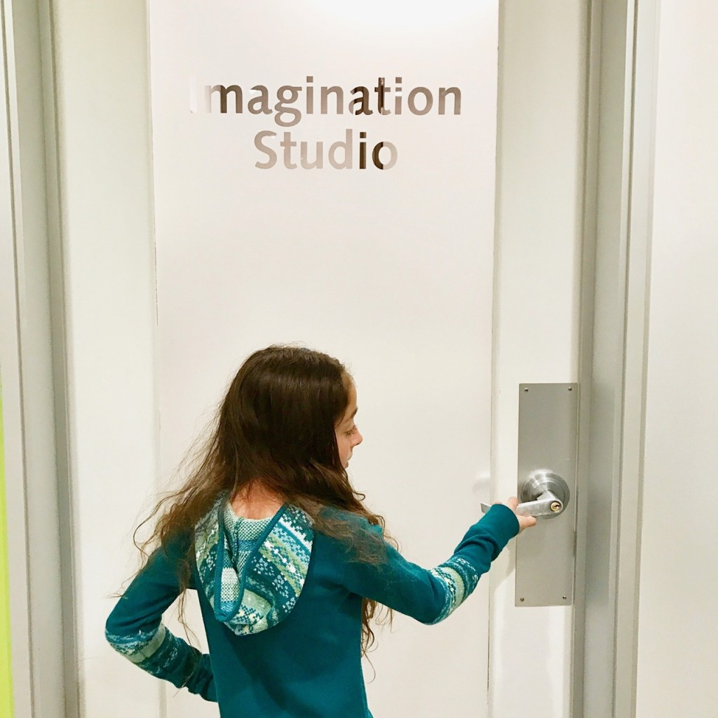 Entering the Yogurtland Imagination Studios