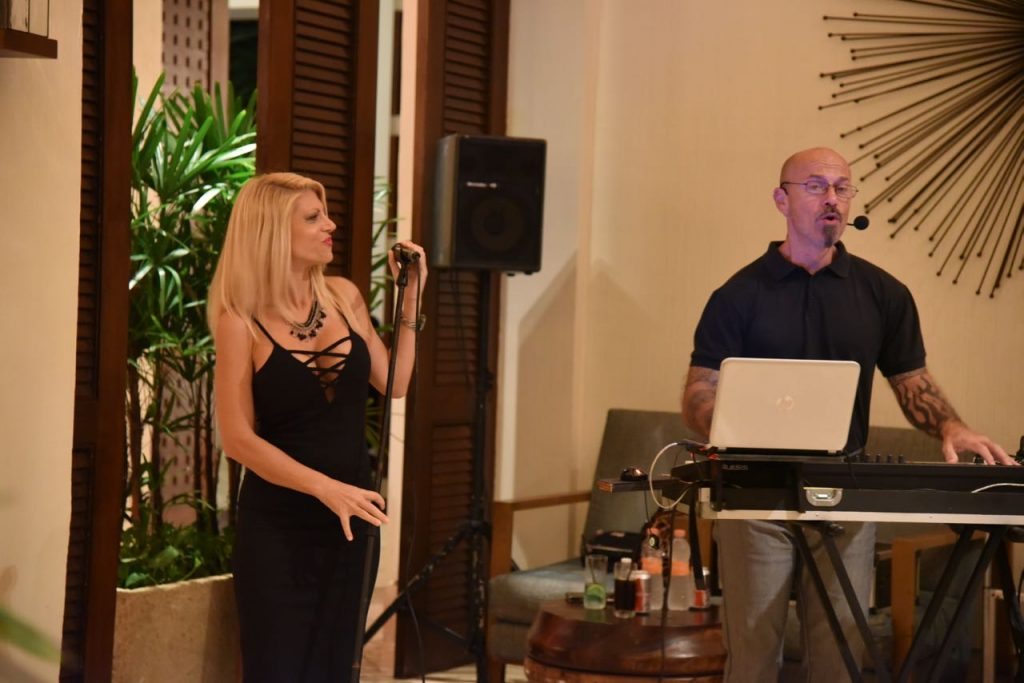 Live entertainment at the Fairmont Mayakoba