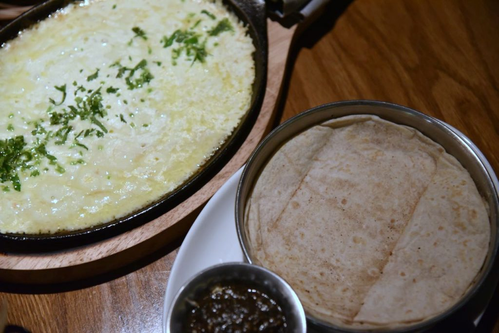 Queso Fundido at La Laguna at Fairmont Mayakoba