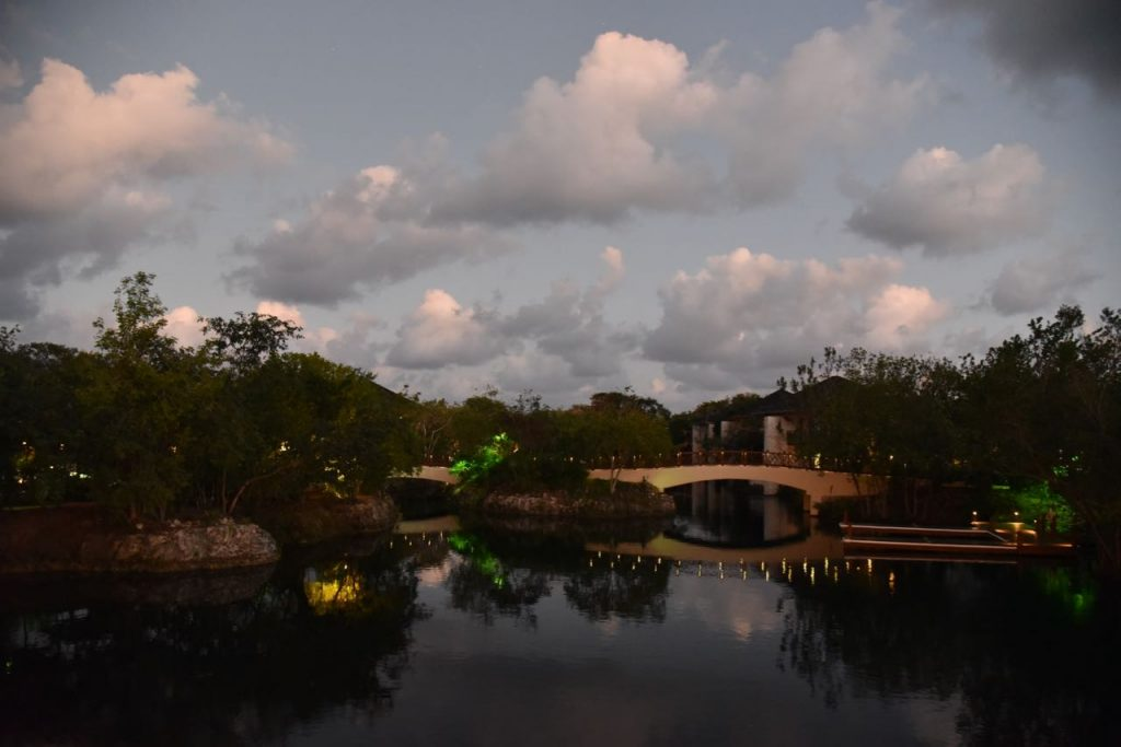 Sunset at the Fairmont Mayakoba