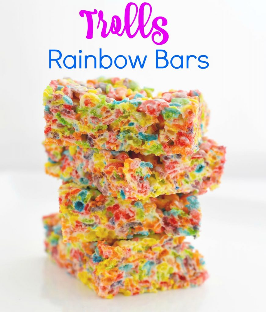 Trolls Rainbow Bars