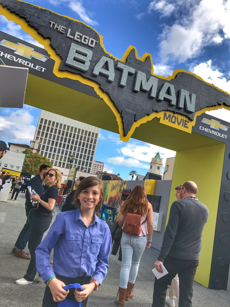 Tyler Barone attending The Lego Batman Movie Premiere