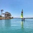 Family Sailing in Dana Point Harbor
