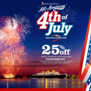 Celebrate the 4th of July at The Queen Mary