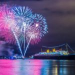 Toast to 2018 Aboard The Majestic Queen Mary