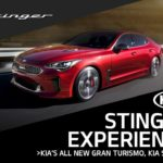 You're Invited to the Kia Stinger Experience