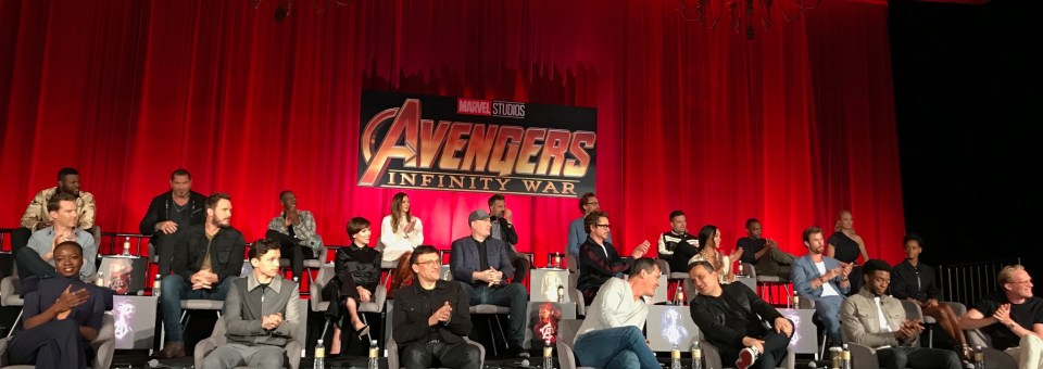 Epic Day with the Cast of Avengers: Infinity War