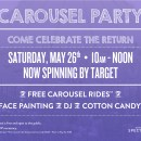 You're Invited: Irvine Spectrum Carousel Party