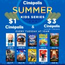 Cinépolis Summer Kids Movie Series