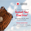 Angels and Dodgers Baseball Fans Blood Drive