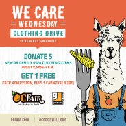 OC Fair: We Care Wednesday Clothing Drive