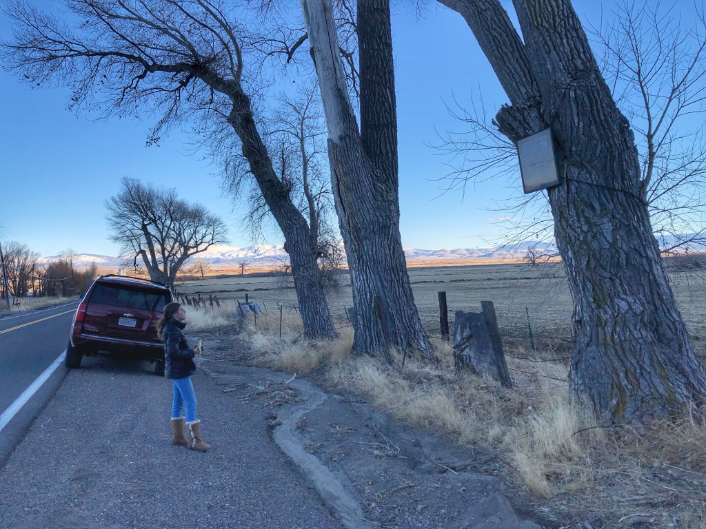 Teaching children about the history of Genoa Nevada