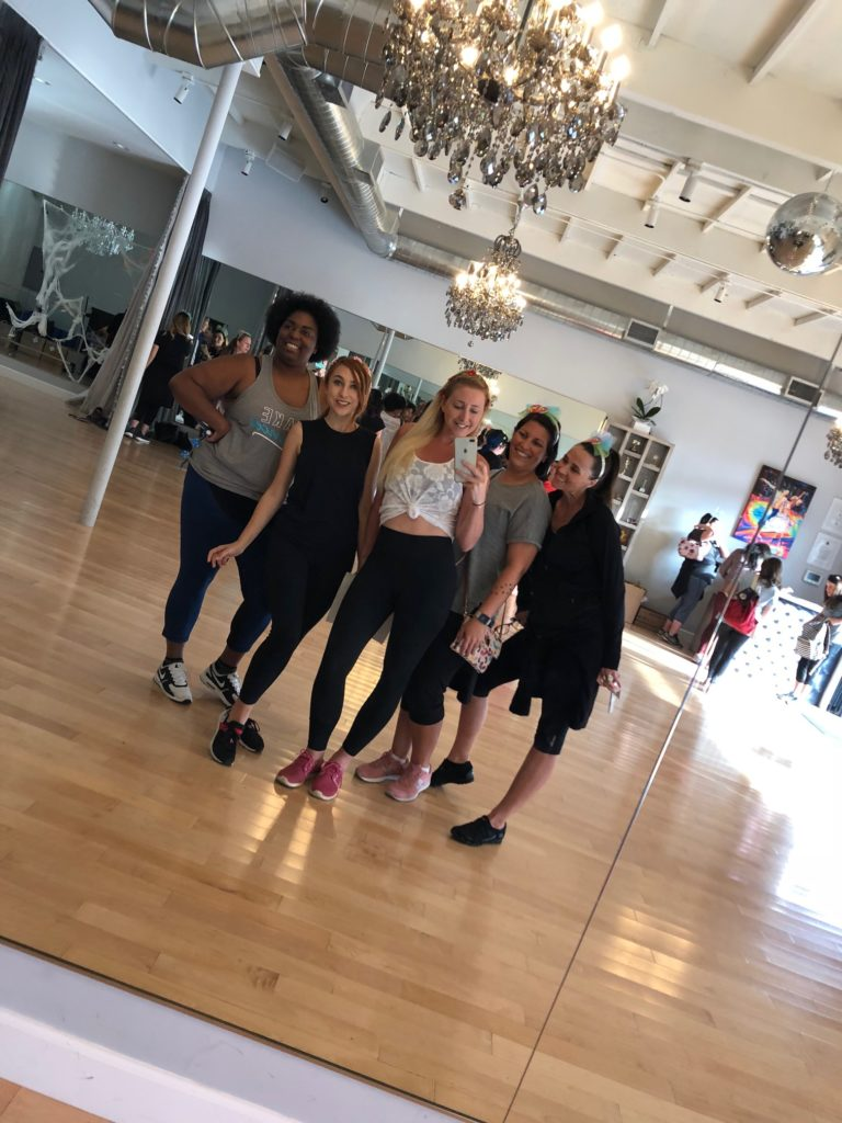 Dancing with Friends at Pro Dance LA