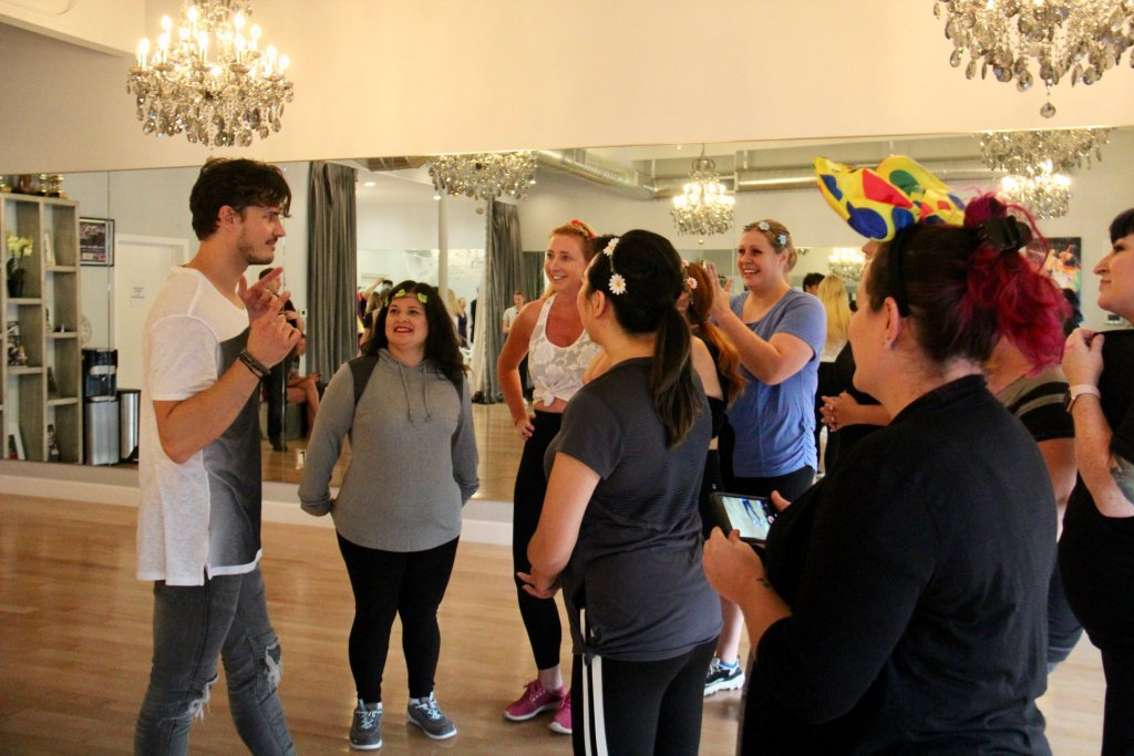 Disney Dance Class in LA