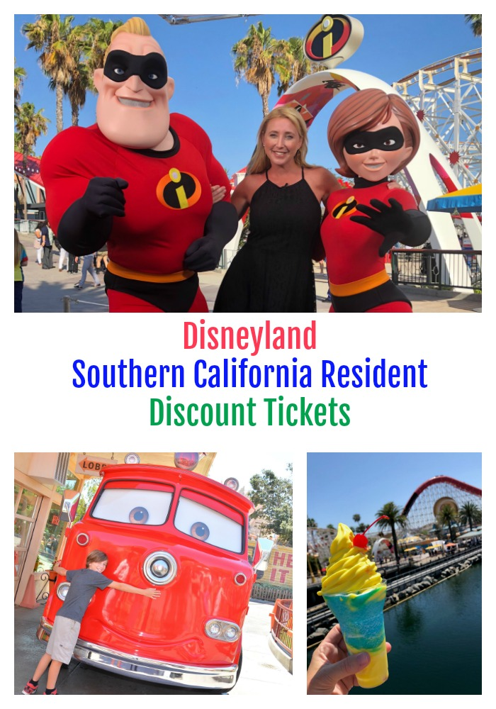 Disneyland Southern California Resident Discount Ticket