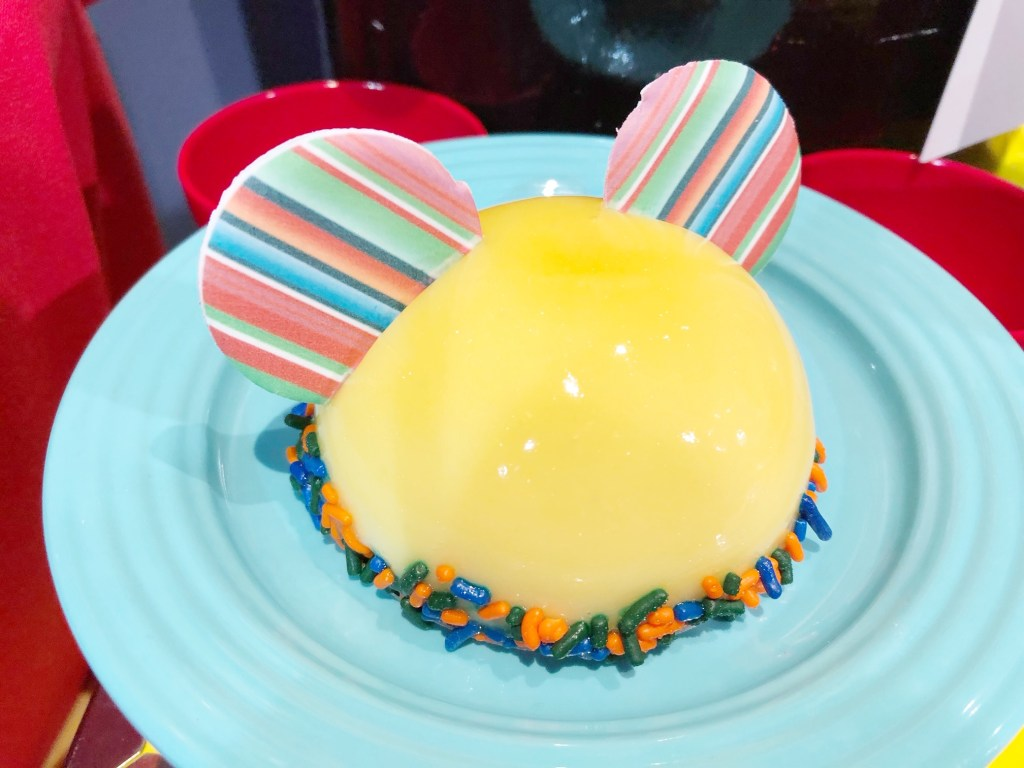 Mickey Hat Dessert at the Disneyland Resort