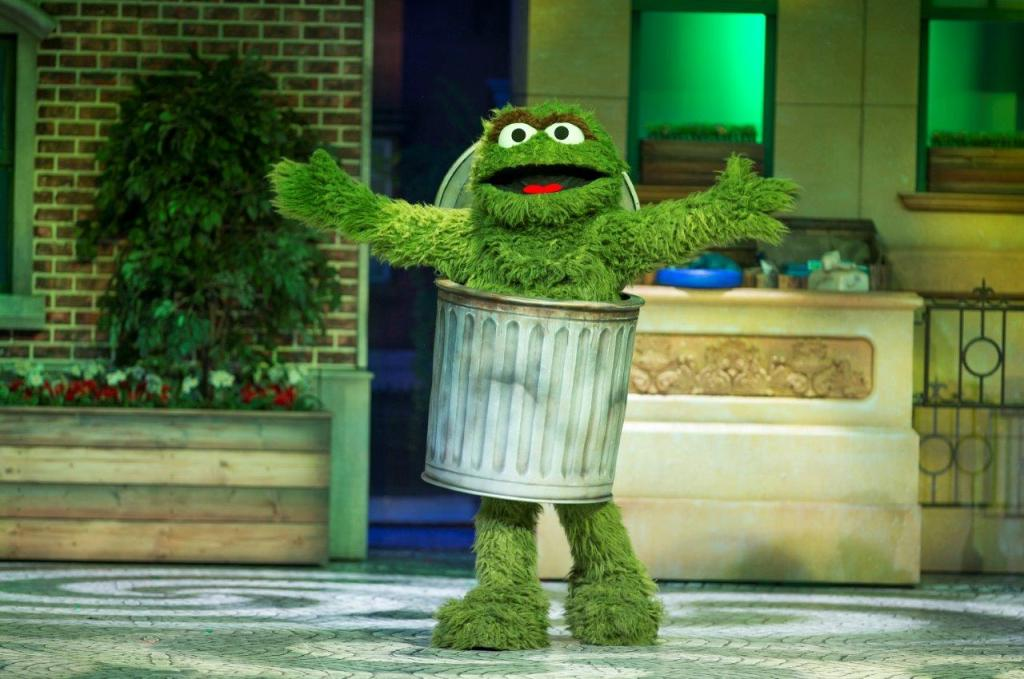 Oscar the Grouch in Sesame Street Live! Let's Party!