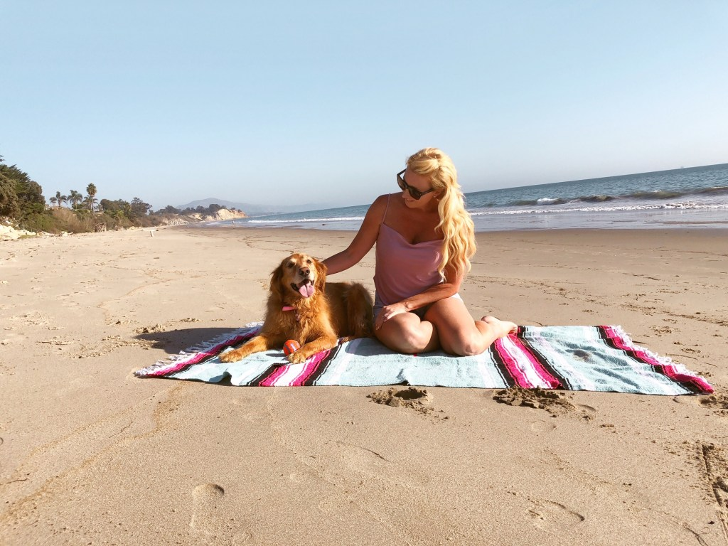 Best beach for dogs in Ojai