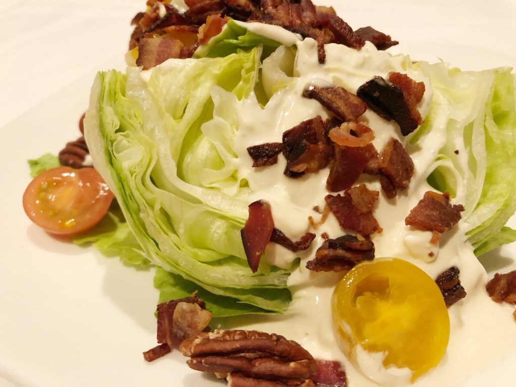 Wedge salad at The Summit House