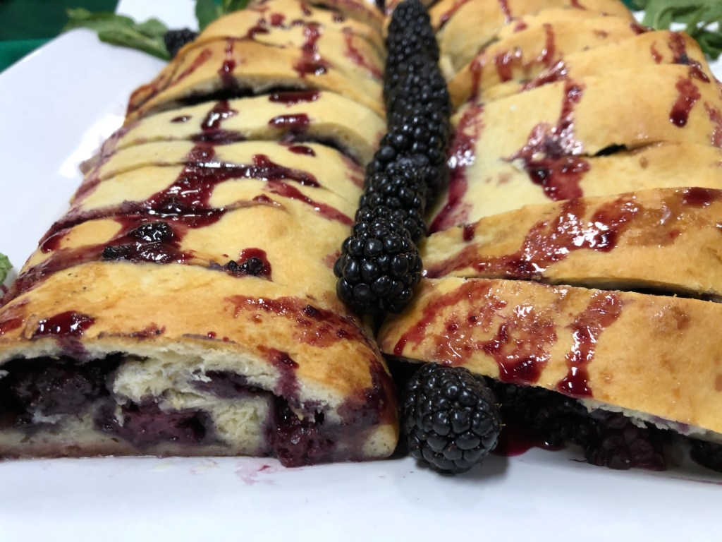 BlackBerry Roly Poly Recipe