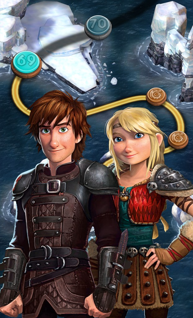 DreamWorks Dragons Titan Uprising video game