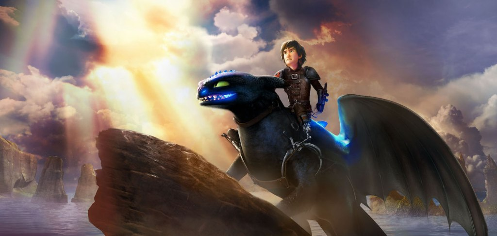 Hiccup in DreamWorks Dragons Titan Uprising