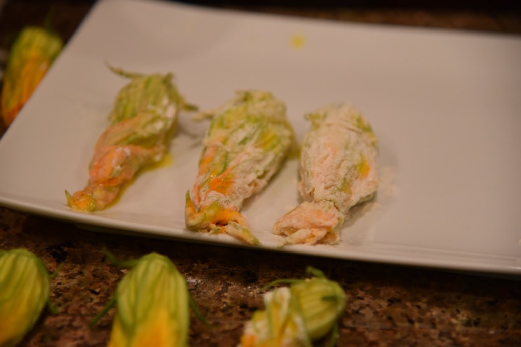 Creative Squash Blossoms recipe