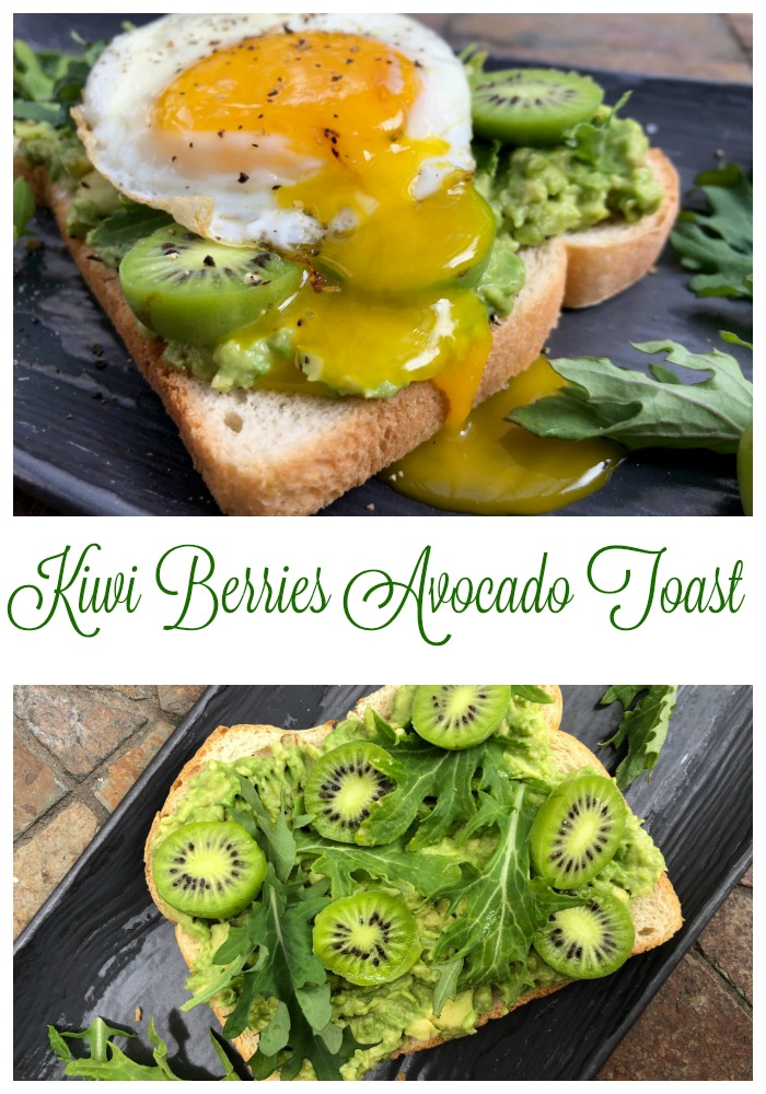 Kiwi Berries Avocado Toast