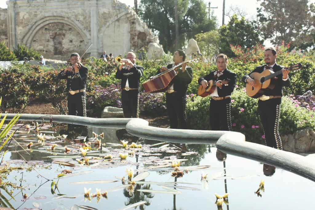 Mariachis at the Mission SJC Swallows Day Celebration