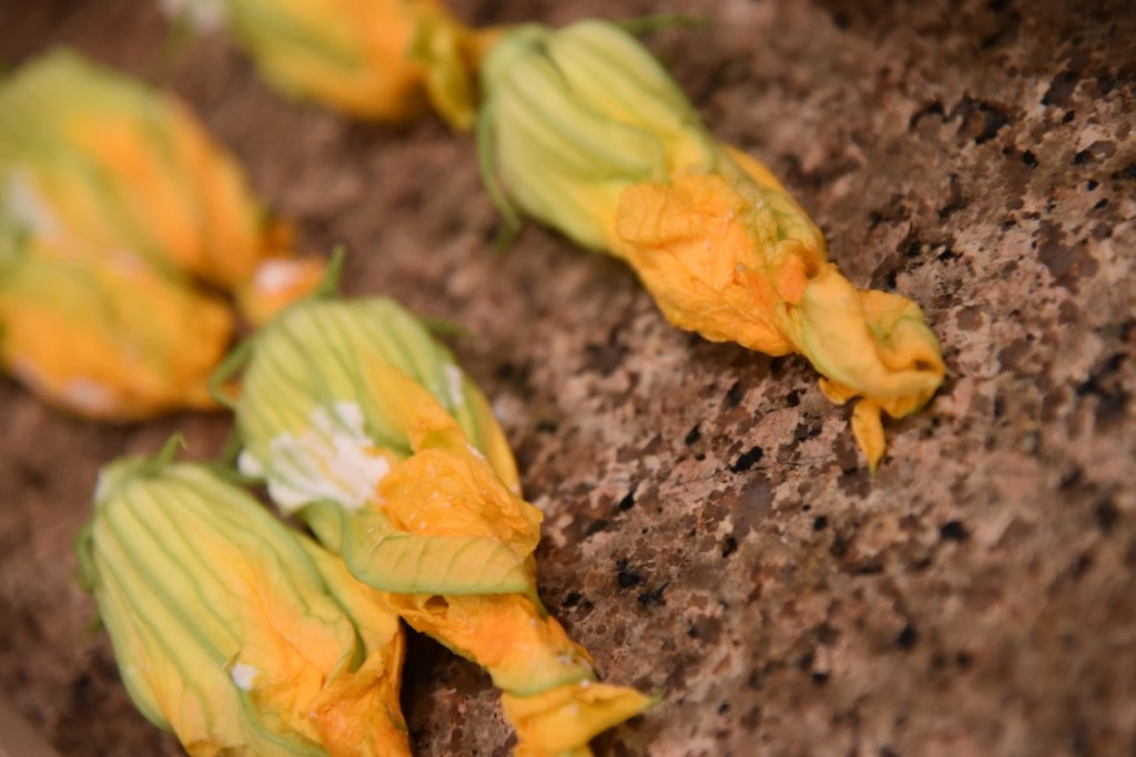 Stuffed Squash Blossoms recipe
