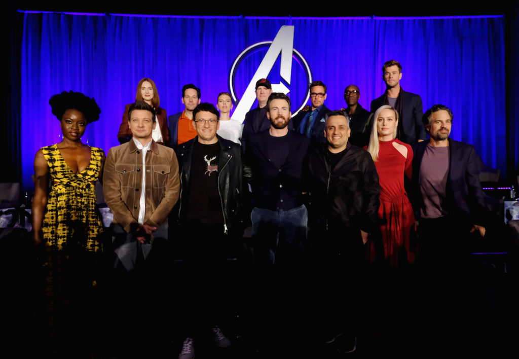 Interviewing the cast of Avengers Endgame