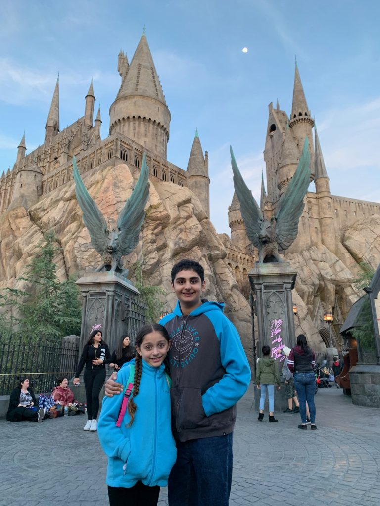 Family fun at Universal Studios Hollywood
