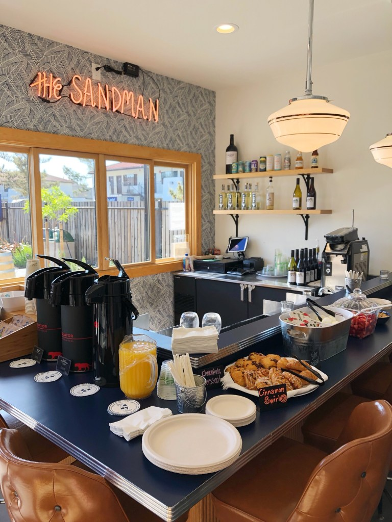 Breakfast at The Sandman Hotel in Santa Rosa