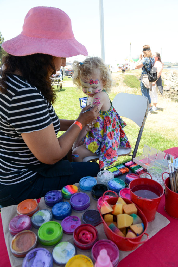 Family fun at The Queen Mary BBQ event