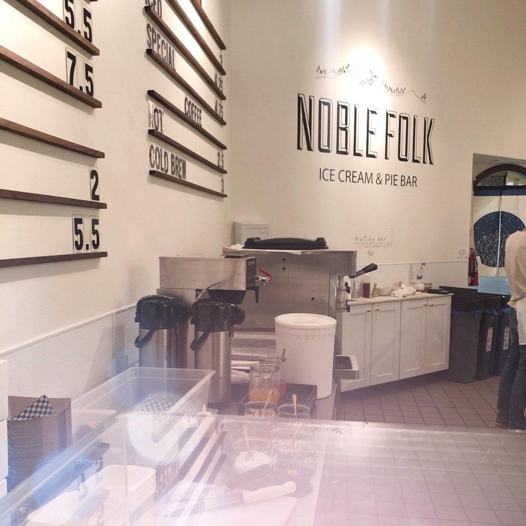 Noble Folk Ice Cream and Pie Bar