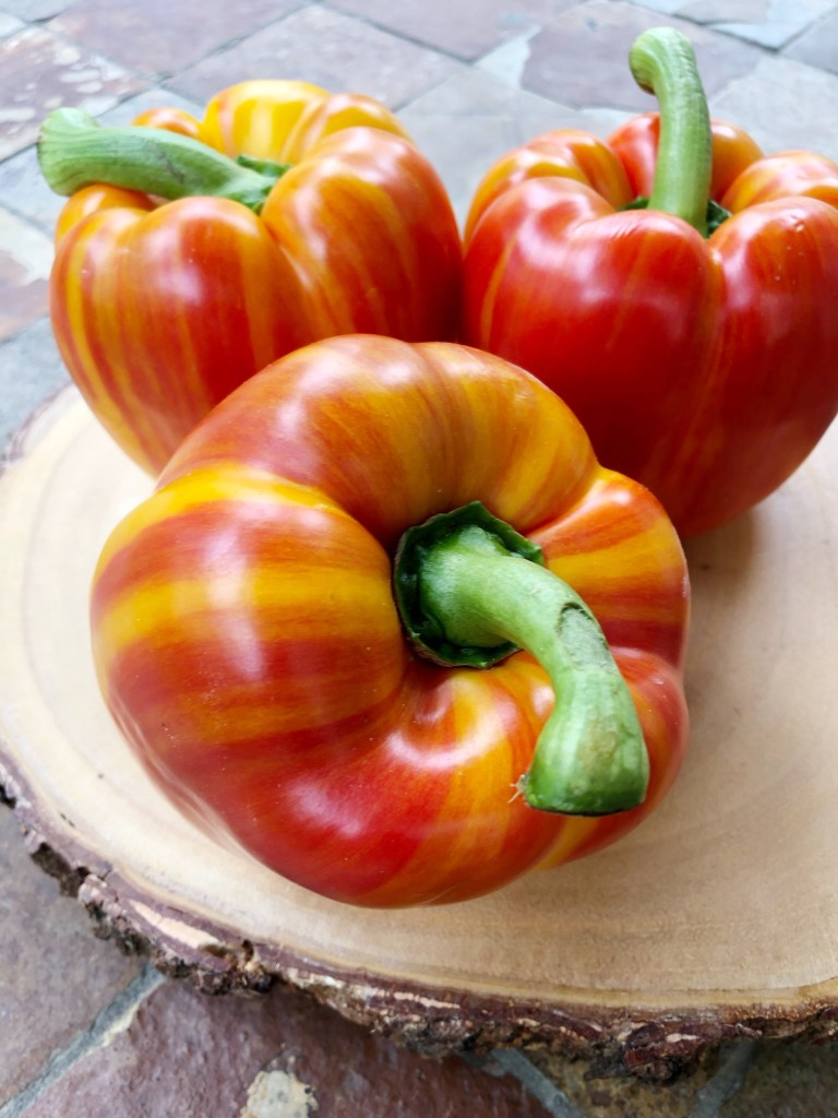 Stripy Bell Peppers
