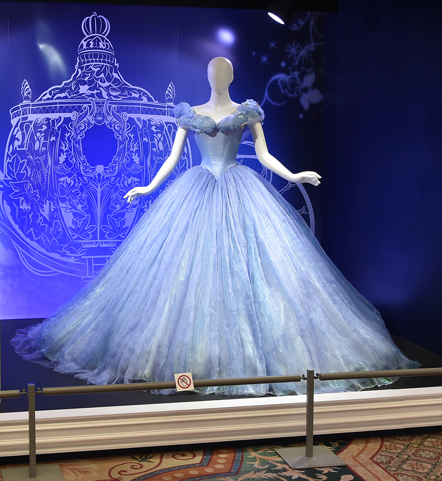 Cinderella Gown at D23 Expo