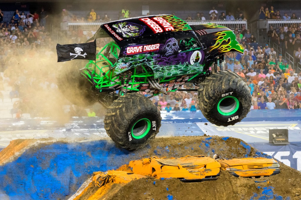 Grave Digger from Monster Jam