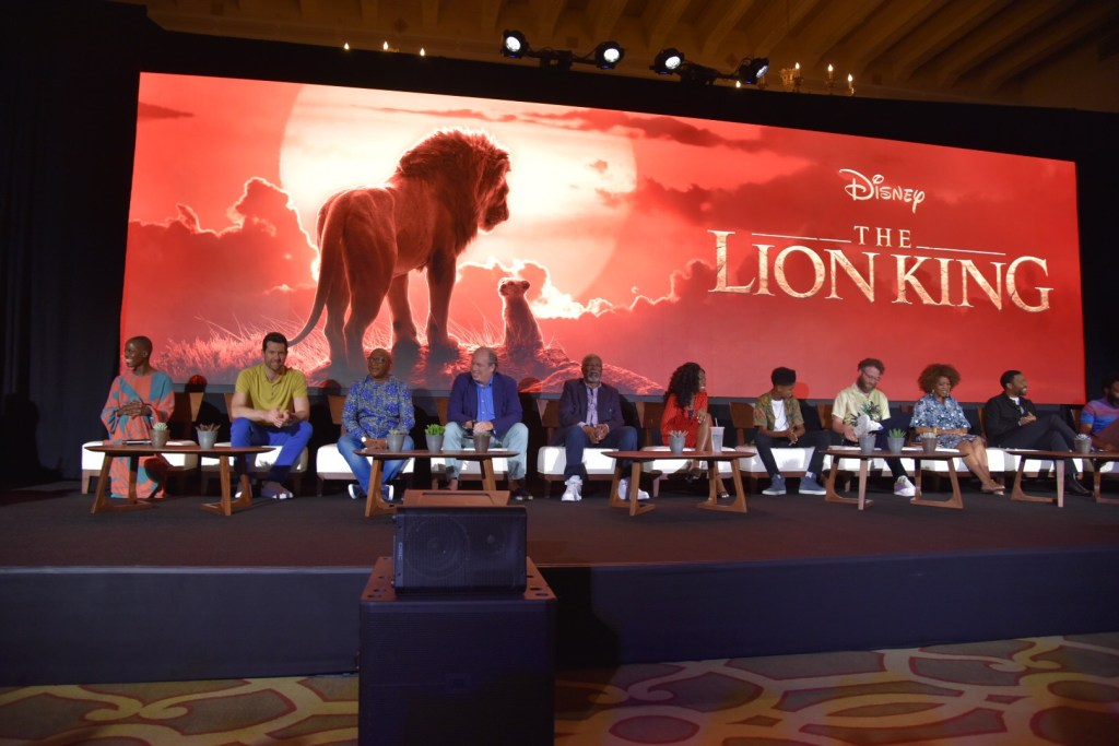 Cast of The Lion King
