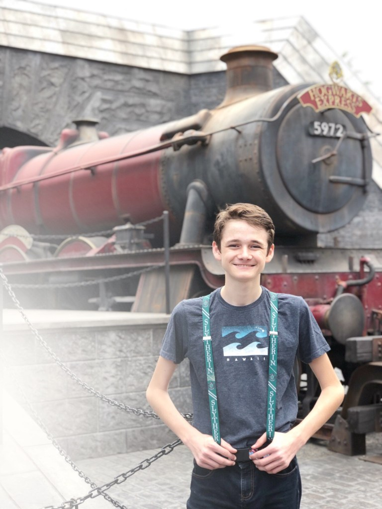 Hogwarts Express at Universal Studios Hollywood