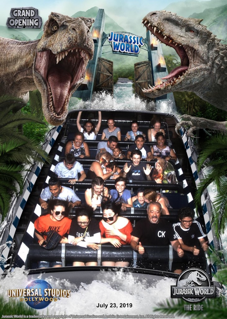 Jurassic World - The Ride!