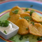 Hatch Chile Polenta Chips Recipe