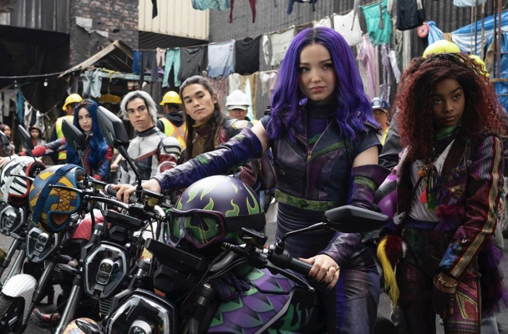 Scene from Descendants 3
