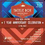 Tackle Box Anniversary Celebration