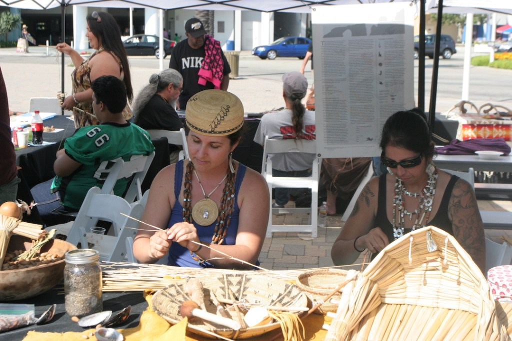 Crafts at the Native American Festival