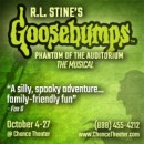 Goosebumps The Musical Giveaway