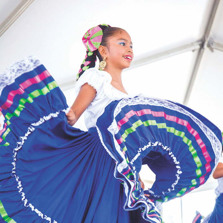 Performances at the Global Village Festival