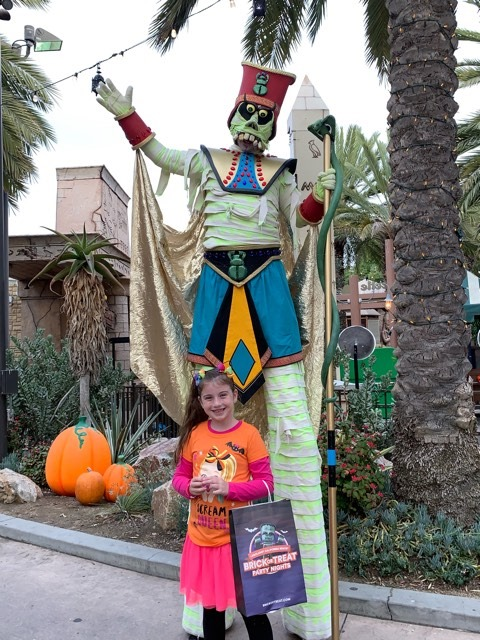 Family fun at Legoland Brick-or-Treat