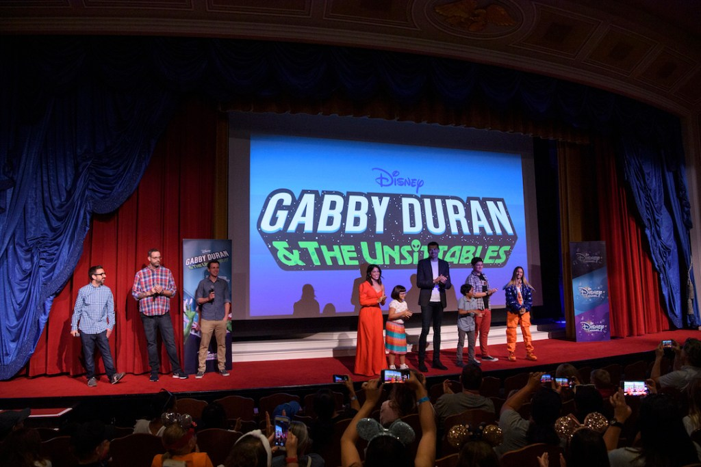 Gabby Duran Event at Disneyland
